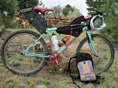 Andy's bikepacking setup