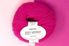 Køb Drops Baby Merino Uld her hos os på www. Winter Hats, Drop, Pink, Baby, Color, Colour, Baby Humor, Pink Hair, Infant