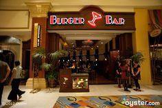 Burger Bar. Upscale hamburger joint at Mandalay Bay Hotel & Casino Las Vegas. Had a Kobe burger here once...