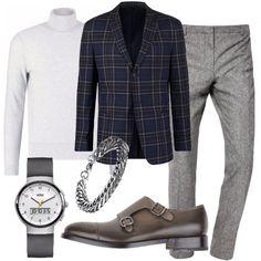 Stile scozzese  outfit uomo Casual per tutti i giorni e ufficio  647ff0e4150