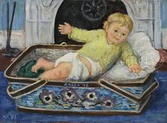 Karen '48 by Waldo Peirce (American, 1884-1970)
