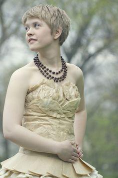 Diy wedding dress great idea, you will only wear it once