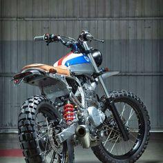 Street Tracker Motorcycle Inspiration 14
