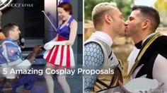 5 amazing cosplay proposals you must see.
