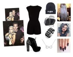 """""""Party with Lottie and Louis"""" by neuzaisabel ❤ liked on Polyvore featuring Warehouse, Waterford, OneDirection, party, louistomlinson, outfits and LottieTomlinson"""