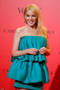Kylie Minogue attends the anniversary of Vogue Spain in Madrid on July Kylie Minogue, Vogue Spain, Olivia Munn, Wonderwall, Hilary Duff, Pop Singers, Celebs, Celebrities, The Duff