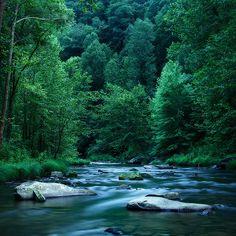Nantahala River in North Carolina