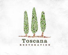 Toscana Restoration Logo Design