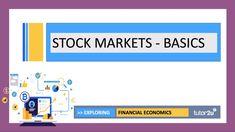 Stock Markets - The Basics  | Head Start in A-Level Economics - YouTube Stock Market Basics, Business Studies, Share Prices, Head Start, Economics, Study, Marketing, Youtube, Studio