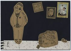 FISH MAIL ART: mail art envelopes, postcards and objects nasi Kopteva and Sasha braulova : harms