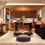 Veja como decorar uma sala de jogos, de maneira bonita e confortável, com mesa de sinuca, jogos e muita diversão!