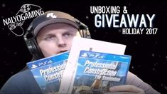 PROFESSIONAL CONSTRUCTION THE SIMULATION, PS4 Unboxing & GIVEAWAY