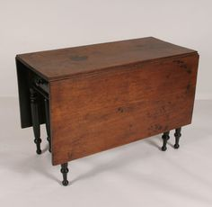 antique drop leaf table gate leg - Google Search