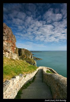 Downstairs - South Stack, Isle of Anglesey, Wales Copyright: Bartlomiej Przezdziecki
