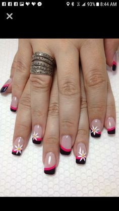 35 Trending Early Spring Nails Art Designs And colors 2019 - Fashionre - Tuni❤. - 35 Trending Early Spring Nails Art Designs And colors 2019 – Fashionre – Tuni❤️ – - Spring Nail Art, Nail Designs Spring, Cool Nail Designs, Spring Nails, Summer Toenails, French Nail Art, French Tip Nails, French Pedicure, French Tips