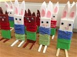 Wood Crafts, Diy And Crafts, Crafts For Kids, Easter Arts And Crafts, Textile Fabrics, Art Plastique, Happy Easter, Handicraft, Special Events