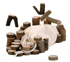 These beautiful natural wooden Tree Branch Blocks are made using the reclaimed branches of Willow and Hazelnut Trees gathered during pruning. Pinned for Kidfolio, the parenting mobile app that makes sharing a snap. Wooden Building Blocks, Wood Blocks, Building Toys, Organic Baby Toys, Kids Blocks, Stacking Blocks, Net Bag, Natural Toys, Wooden Tree