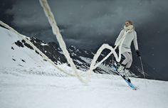 Scarf / Angelia Ami Dress / Fiammetta Pancaldi  Stockings / Emilio Cavallini  Gloves / Cairn Abyss
