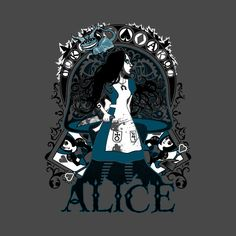 Check out this awesome 'The+Madness+of+Alice' design on @TeePublic!