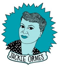 Jackie Ormes (born Zelda Mavin Jackson) was the first African-American woman cartoonist. Her strips, including Torchy Brown in Dixie to Harlem and Patty-Jo 'n' Ginger, featured women who were bold, glamorous and politically aware, defying prevailing stereotypes of black characters. | Jackie Ormes coffee mugs available at BitchMart!