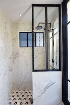 Douche- Maison de 165m2- GCG ARCHITECTES