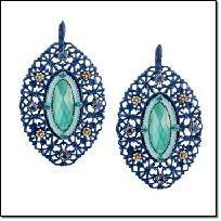 Blue Openwork Earrings - AVON  Pledge to shop small Yardsellr gives you $5 photons to spend! Go here http://yardsellr.com/shopsmall . I offer FREE shipping so shop here http://yardsellr.com/yardsale/Angela-Moran-Bustamante-111087  Style.ly gives you...