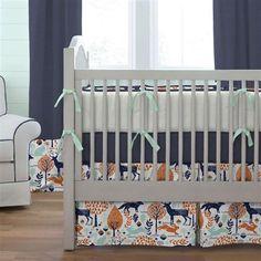 Fresh Nature themed Nursery Bedding