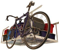 Bike Hook for Adjustable Overhead Garage Rack - Car Guy Garage
