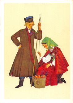 Poland Trachten Costume Polskie Stroje Ludowe Stroj Kielecki Irena Czarnecka… Folk Costume, Costumes, Polish Folk Art, Great Paintings, Traditional Outfits, Poland, Cute Pictures, Art Photography, Character Design