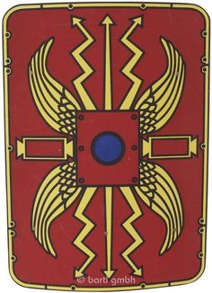 Römer-Schild aus Holz für kleine Ritter 109477
