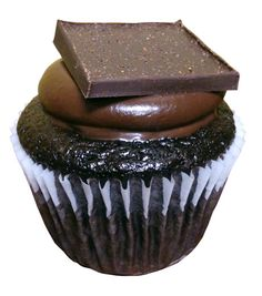 Our January cupcake of the month is…Mayan Chocolate! This nut free, dairy free, egg free chocolate cupcake is topped with a spiced ganache and  a piece of spicy chocolate bark. With the perfect combination of chocolate and spice, this cupcake will light a fire to keep you warm through the Canadian winter!