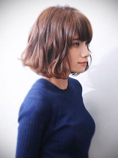 blunt bob hairstyles to wear this season 1 My Hairstyle, Fringe Hairstyles, Hairstyles Haircuts, Pretty Hairstyles, Medium Hair Cuts, Short Hair Cuts, Pelo Pixie, Haircuts With Bangs, Hair Day