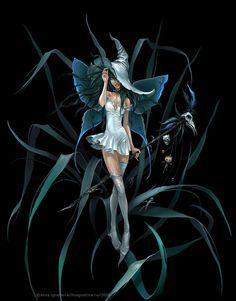 Explore amazing art and photography and share your own visual inspiration! Beautiful Fantasy Art, Beautiful Fairies, Punk Disney Princesses, Fairy Tattoo Designs, Fairy Pictures, Gothic Fairy, Unicorn Art, Anime Fairy, Fairy Art