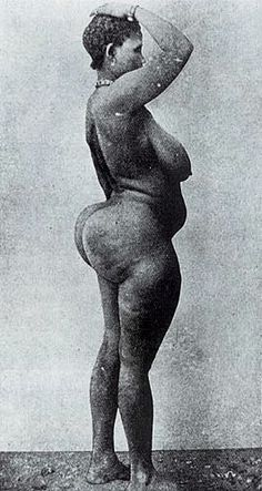 Hottentot Venus real picture, 1814, 1810, South Africa