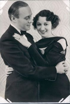 Young Jack Benny and Mary Livingston (then Sadie Marcks.) (m. 1927–1974; his death) Married 47 years