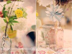 pinwheels and flower