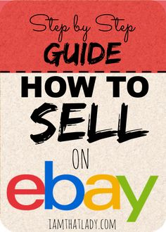 Need ways to make extra cash? Have you ever thought about selling items on Ebay? Check out how to do that here.