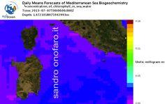 #meteo #forecast #fishing #pesca #mediterranean #mediterraneo #sea #mare 07/07/2013 #Sardegna #Sardinia #Italy #Italia