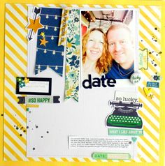 it's a date! May Scraptastic kit!