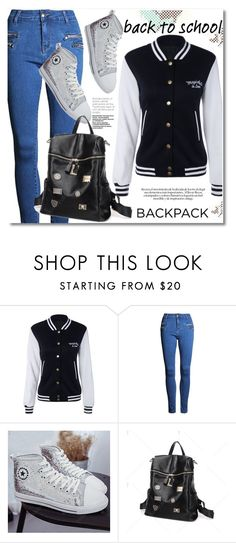 """""""In My Backpack"""" by svijetlana ❤ liked on Polyvore featuring backpack and inmybackpack"""