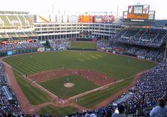 The Ballpark in Arlington.
