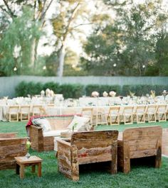 Wedding Design: Backyard Bliss