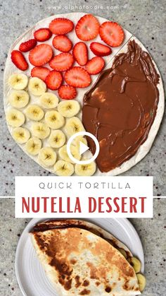Fun Baking Recipes, Snack Recipes, Dessert Recipes, Cooking Recipes, Snacks Saludables, Just Desserts, Tortilla Dessert, Love Food, Healthy School Snacks