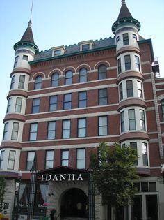 historic Idanha Hotel, Boise, Idaho  photo by Steve Golse