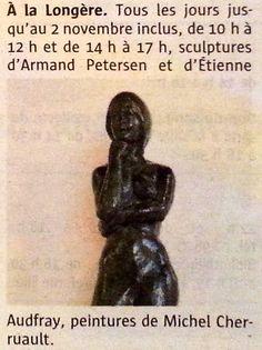 Exposition Audfray-Petersen à Clohars-Carnoët 22/10 au 02/11/2016