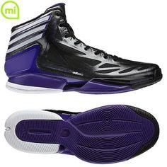 sale retailer dbdd8 6cb75 Adidas Adizero Crazy Light 2.0 Shoes Black-Running White-Purple (G59161)  Hot Sale Adidas Basketball Shoes-916 - 72.99  lebronxlows.net  saleLeBron X ...