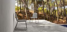 Loop collection by MANUTTI - exclusive Belgian outdoor furniture. The Loop is a lively, elegant and light chair collection. Upholstered with high quality nautical fabrics in Alcantara®, Terry or white leatherette, ensuring welcoming ambiance in any imaginable place.