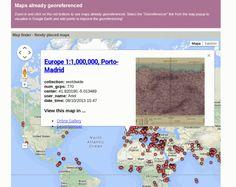 Una colección de más de 2.000 mapas antiguos en Internet