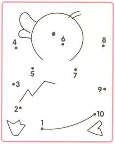 van 1 naar 10 (of je kan de nummertjes veranderen door pijltjes voor de 2de…