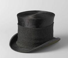 Top hat S.J.P. Kruger, Box and Co. Ltd. Cooper, ca 1850 - ca 1904